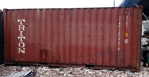 Container bekas 20-feet