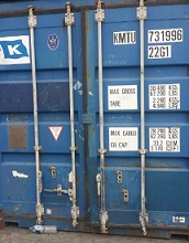 jual Container bekas 20 feet