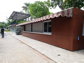 Jual Cafe Container Pik
